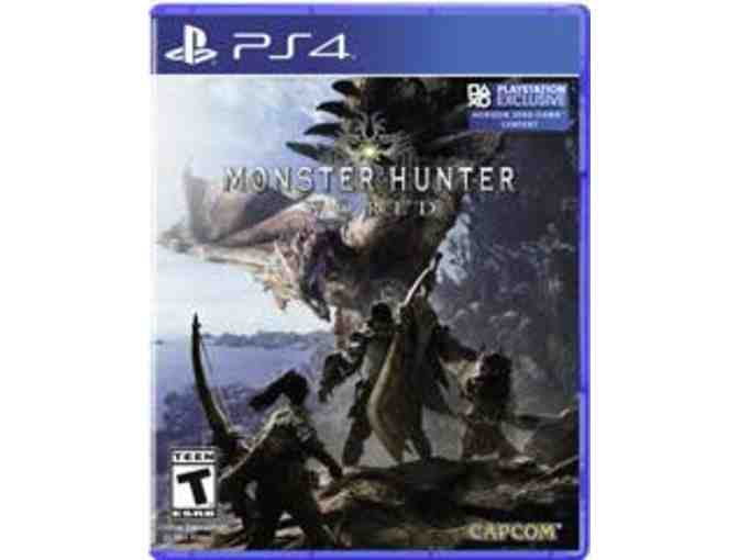 PS4 Game - Monster Hunter World