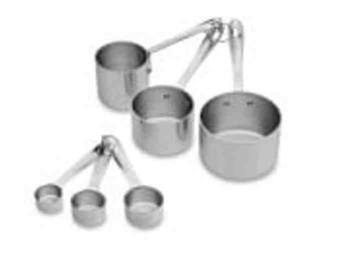 All Clad Odd Size Measuring Cups & Spoons