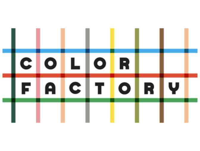 2 tickets to the Sold Out Color Factory