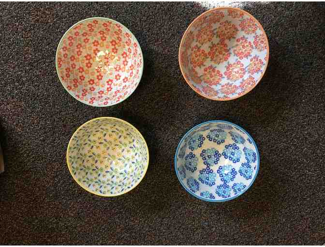 Anthroplogie Ditsy Dot Bowls