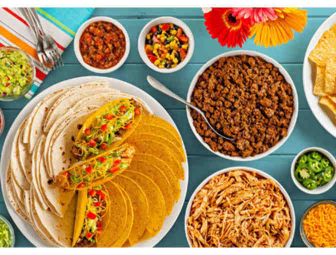 Party Theme with a Taco bar