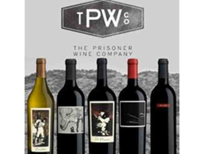 A Personalized Wine & Food Pairing for 6 at The Prisoner Wine Company