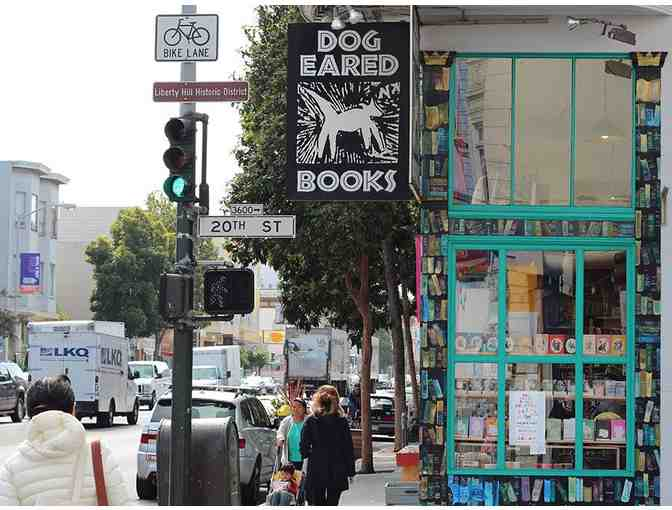 Dog Eared Books Gift Certificate ~ $20