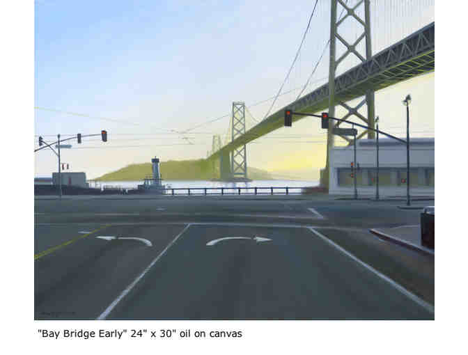'Bay Bridge Early' Print