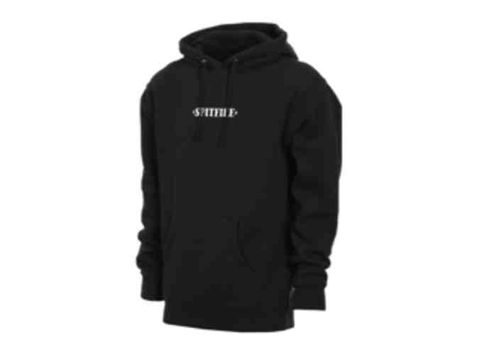 Spitfire Embroidered Black Hoodie