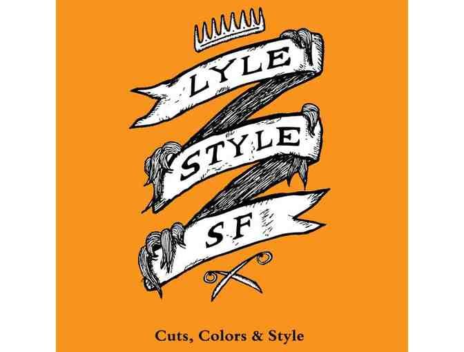 Hair Cut by Douglas Lyles at Lyle Style Salon Castro