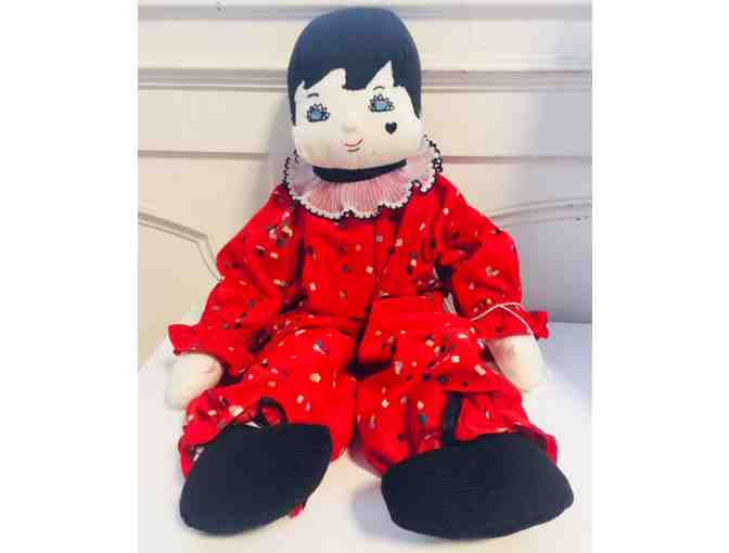 Collectible 1950's Vintage Handmade Doll from Paris