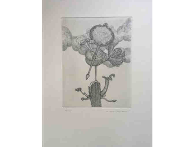 'Vusus' Etching by Zevi Blum, series 3/50
