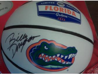 Billy Donovan Autographed Logo Basketball