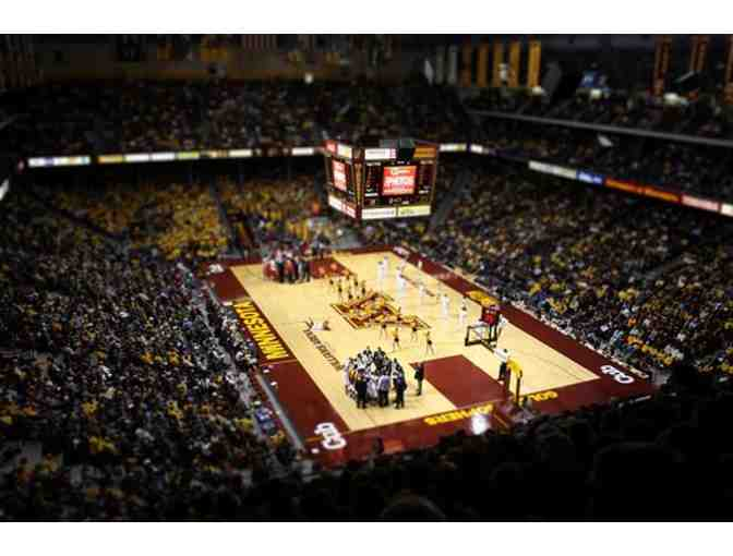 Gopher's Basketball Premium Ticket Package