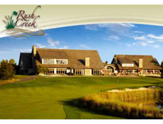 Golf for 4 at Rush Creek Golf Club