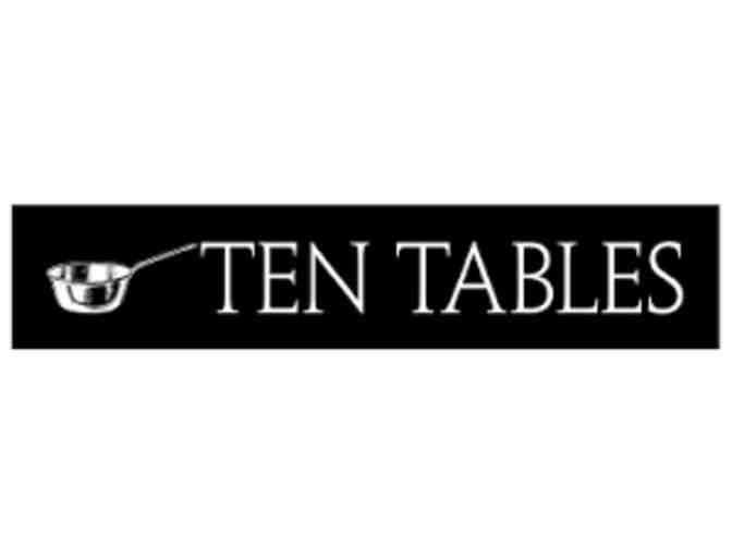 Ten Tables - $100 Gift Card - Photo 1
