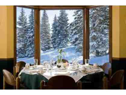 Gwyn's High Alpine Restaurant on Snowmass Mountain - Champagne Breakfast for 2