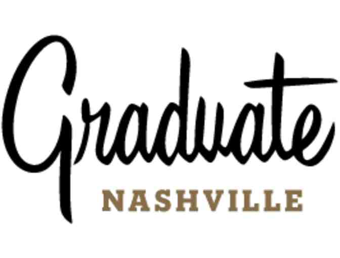 Graduate Nashville: One night stay in a suite with a $200 restaurant credit