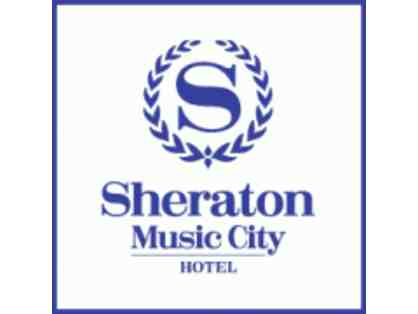 Sheraton Music City: One night complimentary stay