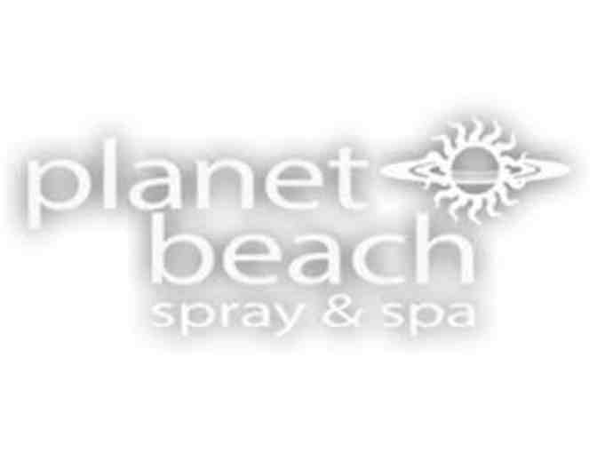 1 year at Planet Beach with Tanning Products