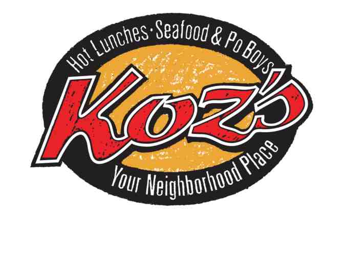 $40 Koz's Restaurant (Harahan & Lakeview) + $25 Amazon Gift Card!