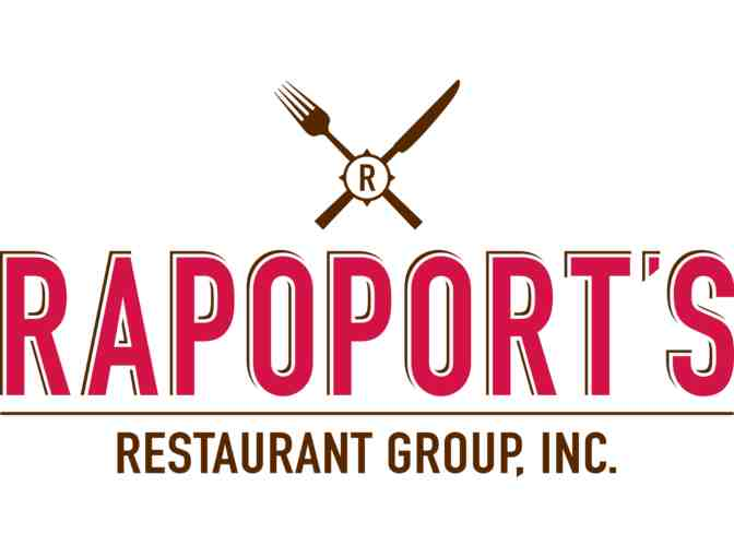Rapoport's Restaurant Group, $50.00 Gift Card - Photo 1
