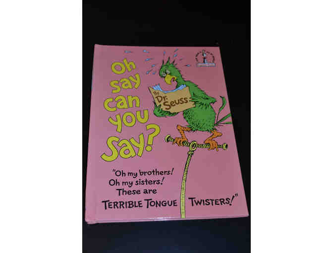 'Oh Say Can You Say' Book By Dr Seuss