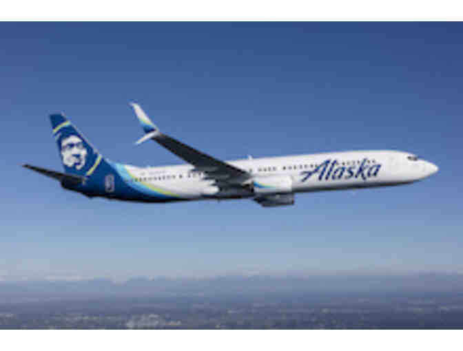 Two Round Trip Tickets on Alaska Airlines