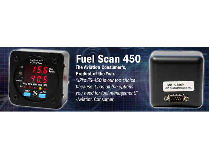 Fuel Flow Monitor from JPI