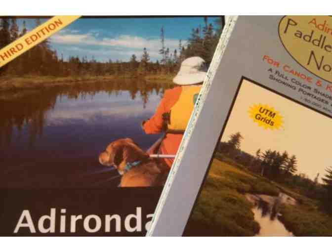 Adirondack Paddlers Map - North & Guidebook Combo