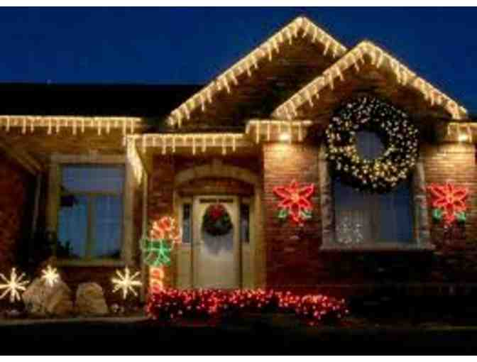 Holiday Home Lighting Display and Decoration Package
