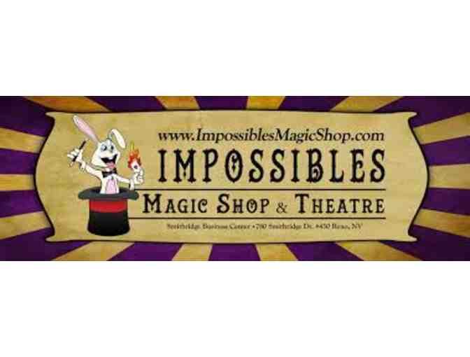 Impossibles Theatre Birthday Party Package