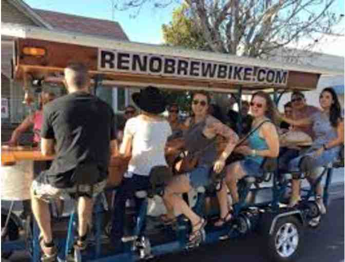 Reno Brew Bike Tour For 15