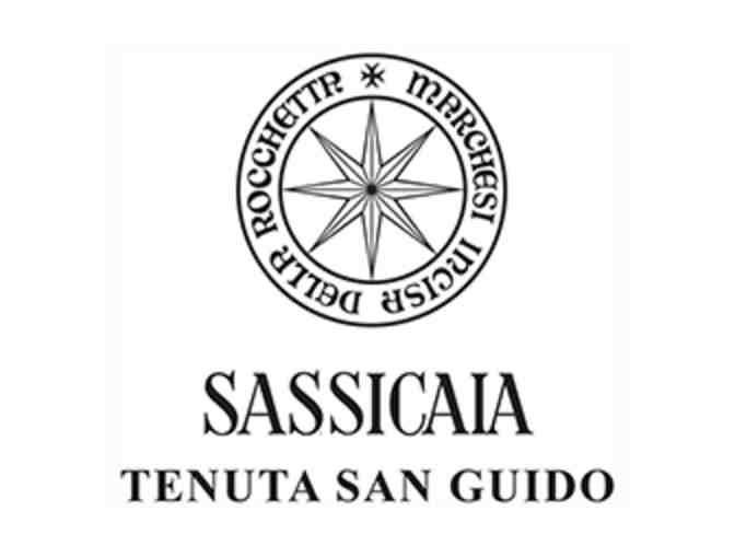 Sassicaia 2014 Vintage: 6 Bottles of Wine in Original Wooden Case