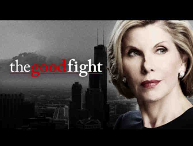 One day on the set of THE GOOD FIGHT starring Christine Baranski!