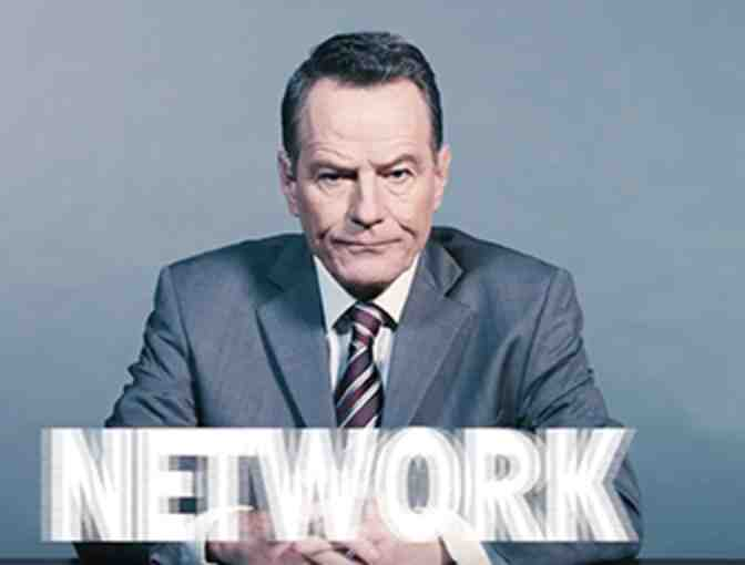 Meet Bryan Cranston after a performance of Broadway hit NETWORK; plus gift card to Butter!