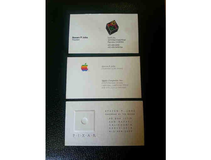 Authentic Steve Jobs business cards!