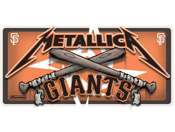 Metallica and San Francisco Giants SUPER FAN Package