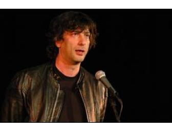 Afternoon tea with Neil Gaiman