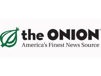 Appear in an Opinion Piece in The Onion