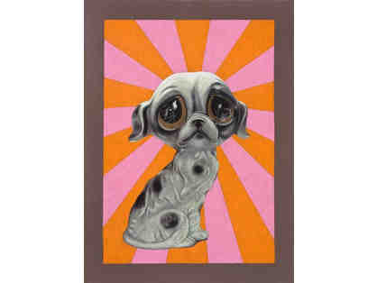 ART: Sad Puppy, Large Print By Robert Lucy