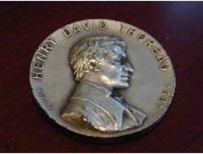HOT ITEM - Thoreau silver medal