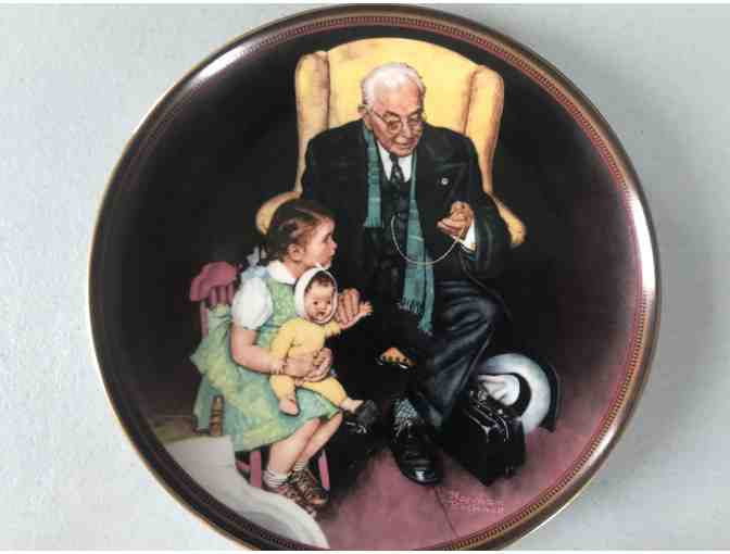 Norman Rockwell Collector Plates 1988