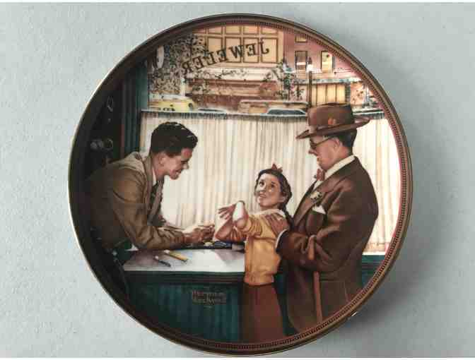 Norman Rockwell Collector Plates 1989