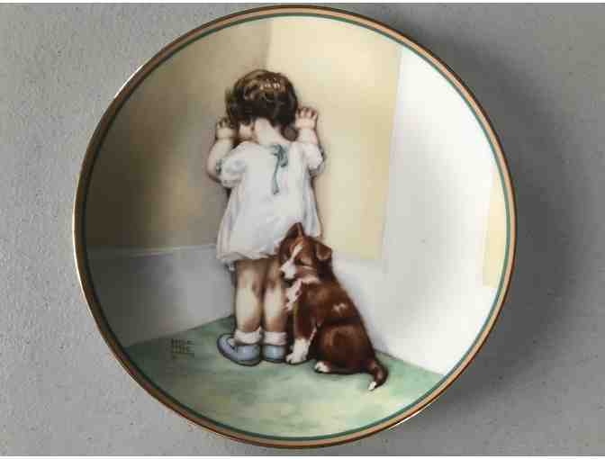 Collector Plate, 'In Disgrace' 1985
