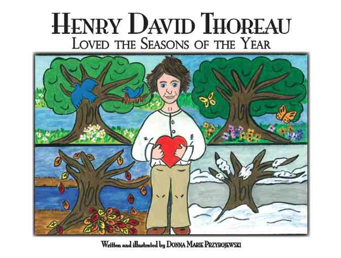 Complete Set of Henry David Thoreau Children's Books by Donna  Przybojewski