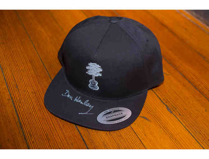 Cap signed by Walden Woods Project founder Don Henley