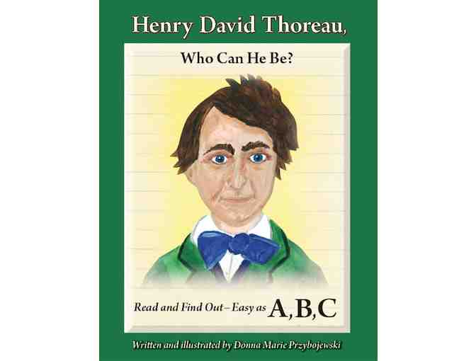 Canvas Print of Illustrations from children's book 'Henry David Thoreau, Who Can He Be?'