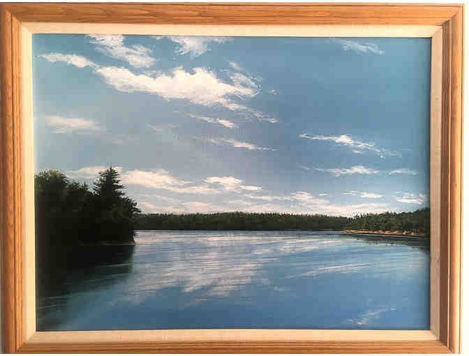 Fine Art - 'It is the earth's eye, Walden Pond,' Douglas Baker '96