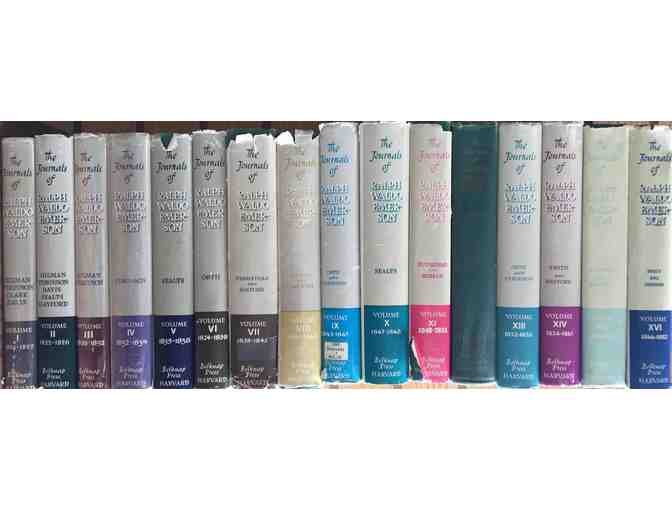 16-Volume Set: The Journals and Miscellaneous Notebooks of Ralph Waldo Emerson