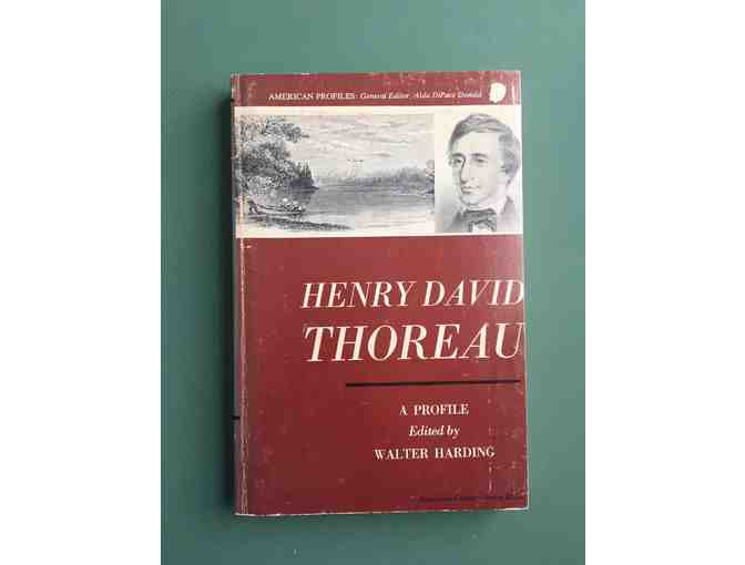 1971 - Ed. by Walter Harding 'Henry David Thoreau: A Profile'
