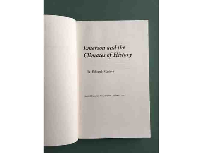 Emerson and the Climates of History