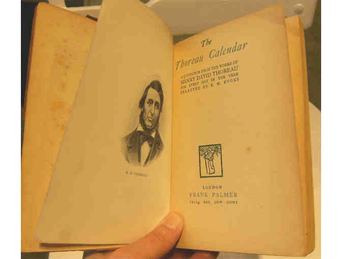 The Thoreau Calendar: A Quotation from the Works of Thoreau for Every Day (1912)