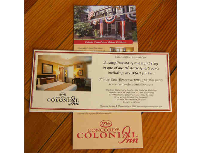 Concord's Colonial Inn - One-Night Stay and Breakfast for Two - Photo 2